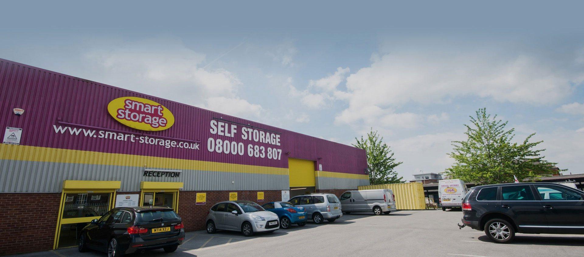 Smart Storage Store Front