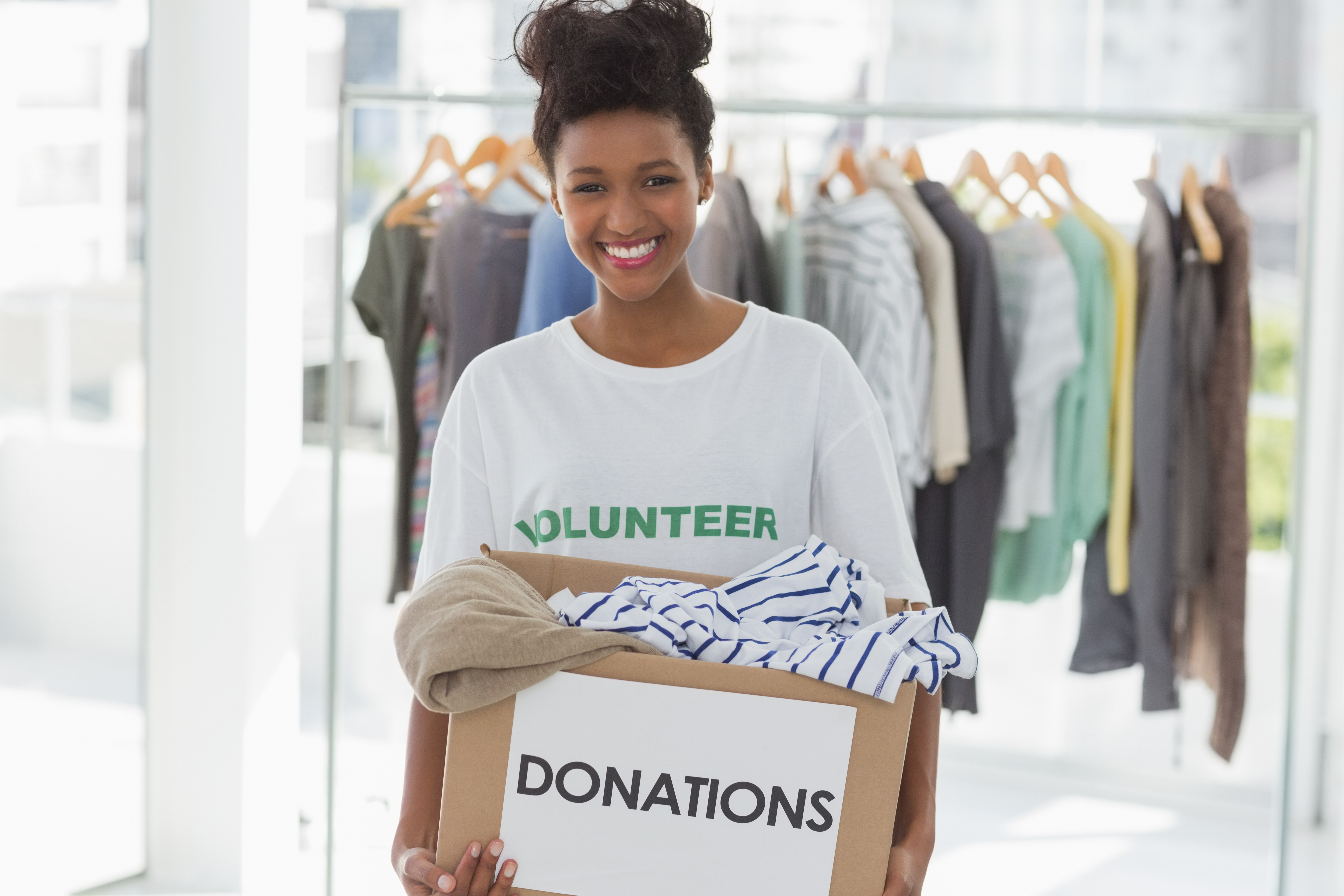 How to get rid of clutter smart storage for Shirts that donate to charity