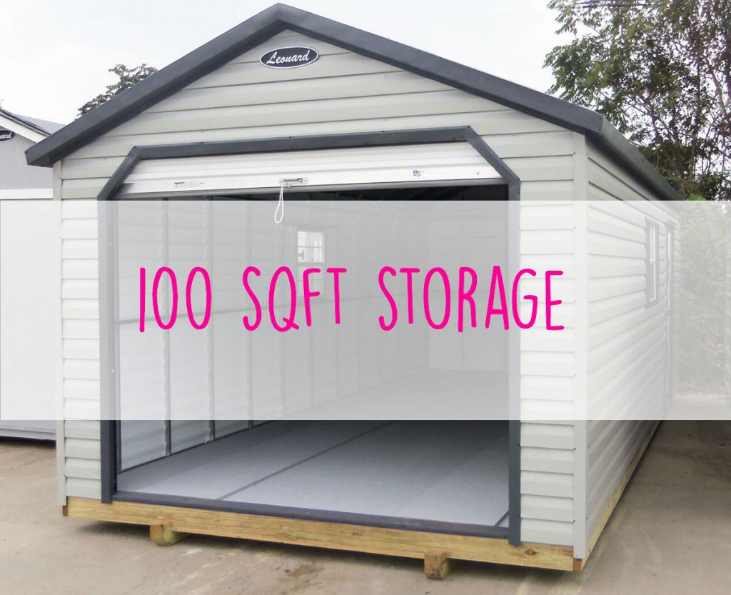 Self storage size guide smart storage ltd 100 square feet house