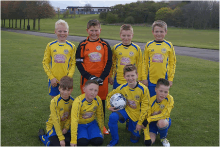 Image of Heswall Juniors FC, proudly sponsored by Smart Storage Ltd