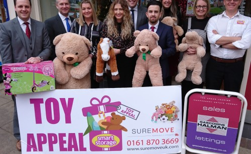 Gascoigne Halman with the Toy Appeal