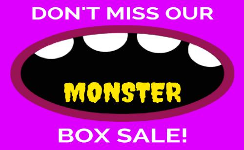 Smart Storage Monster Box Sale