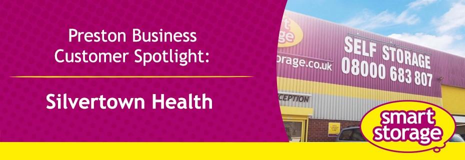 Preston Business Customer Spotlight: Silvertown Health | Smart Storage Blog