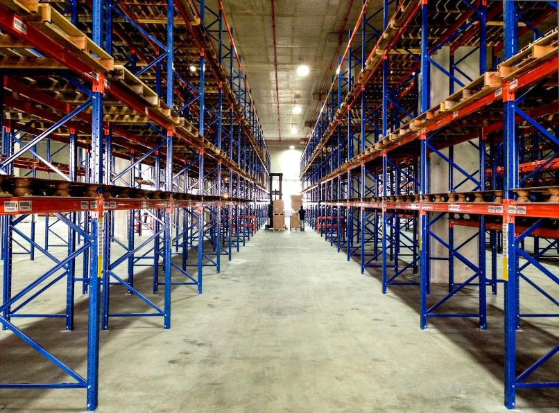 Logistics Industry - Warehouse Storage Racks iStock_000032482110_Small