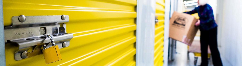 Safety storage unit at Smart Storage
