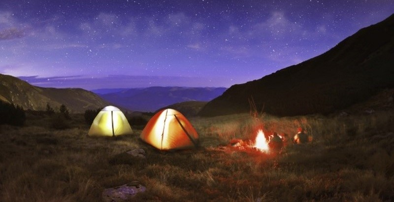 get your camping gear out of storage and go camping with the family