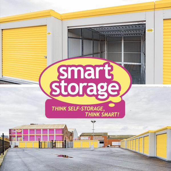 drive-up units at smart storage
